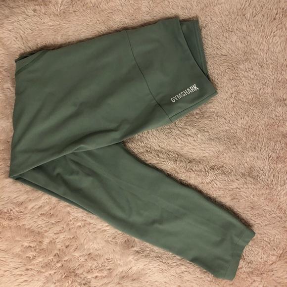 High waisted training leggings-cropped